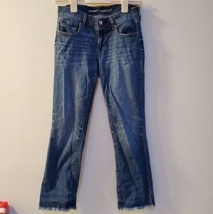 Ankle flare jeans